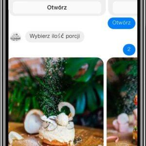 Chatbot dla restauracji