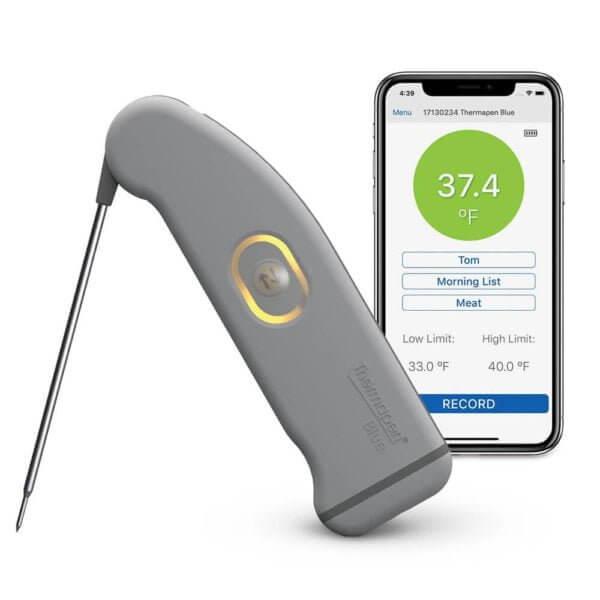 Cyfrowy termometr dla szefa kuchni bluetooht