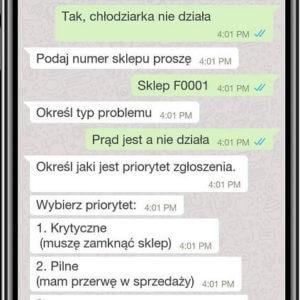 Chatbot dla działu techniczego