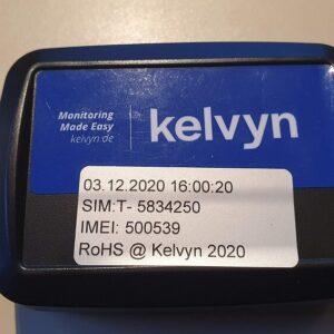 Bateryjnie zasilany rejestrator temperatury dla transportu