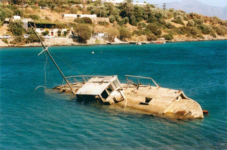 awaria na jachcie łodzi
