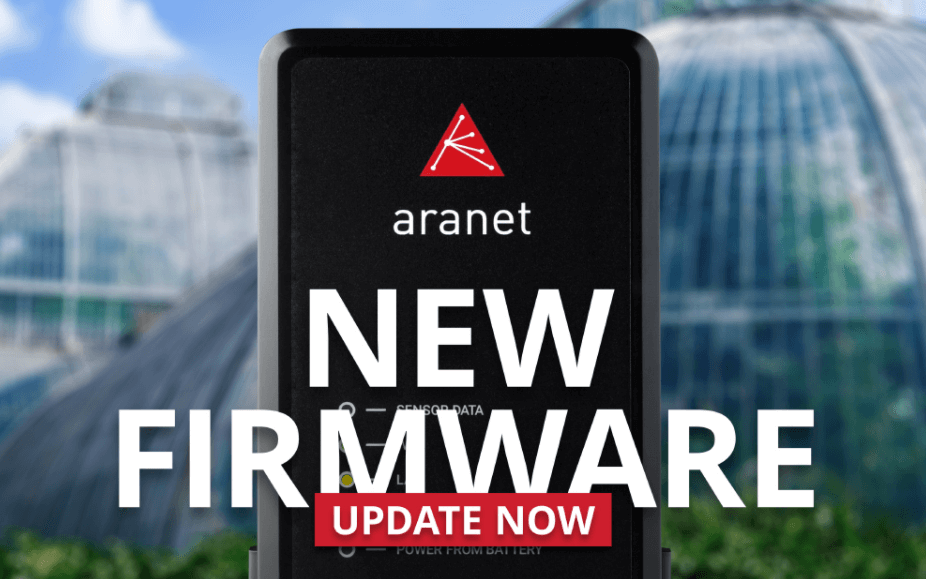 Aranet PRO Firmware v2.6.5 Available for Download